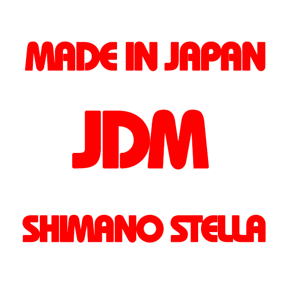 MADE IN JAPAN, JDM & SHIMANO STELLA