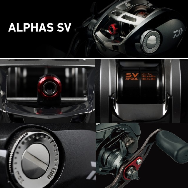 NEW PRODUCT INFORMATION IN 2015 - DAIWA ALPHAS SV