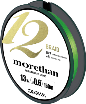 NEW PRODUCT INFORMATION IN 2015 - DAIWA MORETHAN 12 BRAIDS
