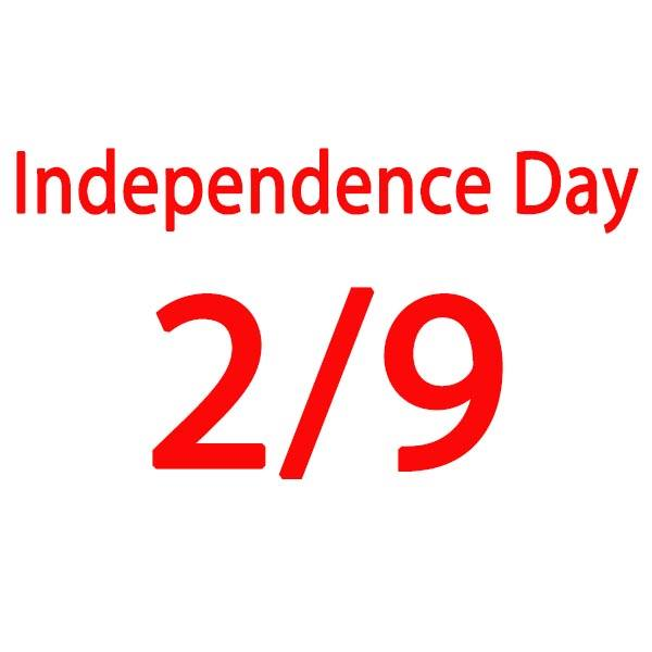 NOTICE OF INDEPENDENCE DAY