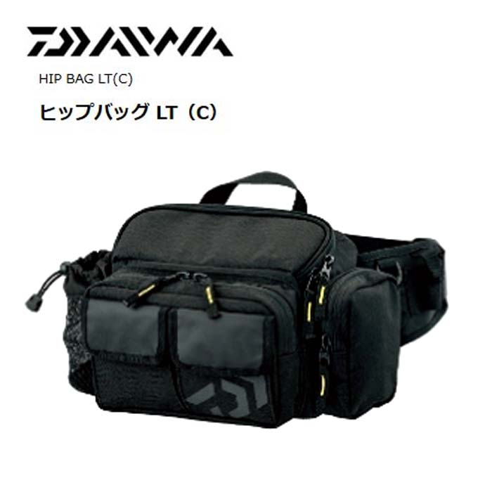 DAIWA HIP BAG LT (C) BLACK