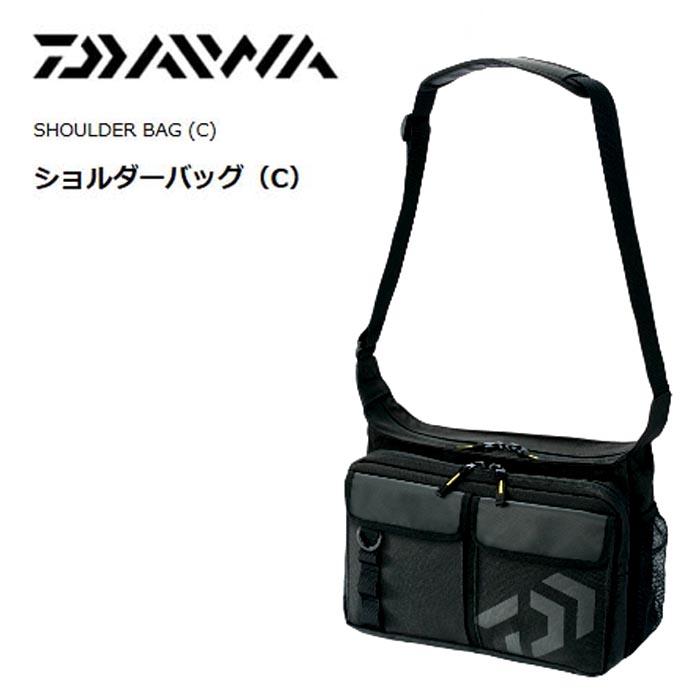 DAIWA SHOULDER BAG (C) BLACK