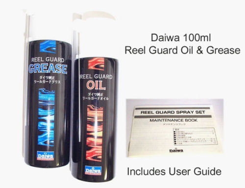 DAIWA REEL GUARD OIL AND GREASE SPRAY SET