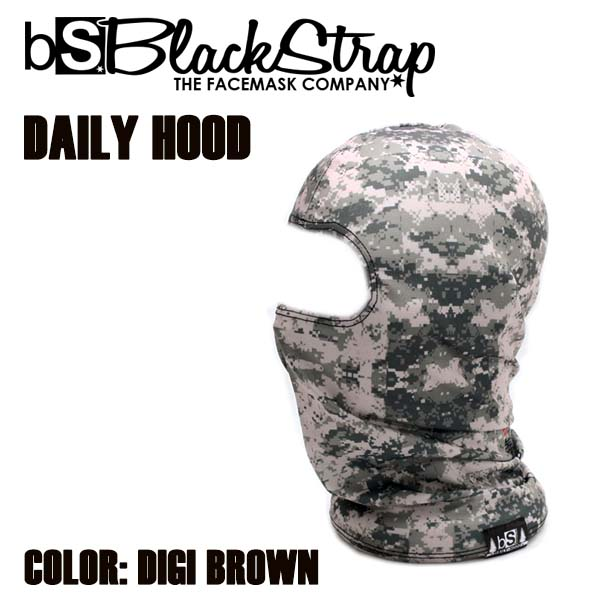 BLACK STRAP DAILY-HOOD DIGI BROWN