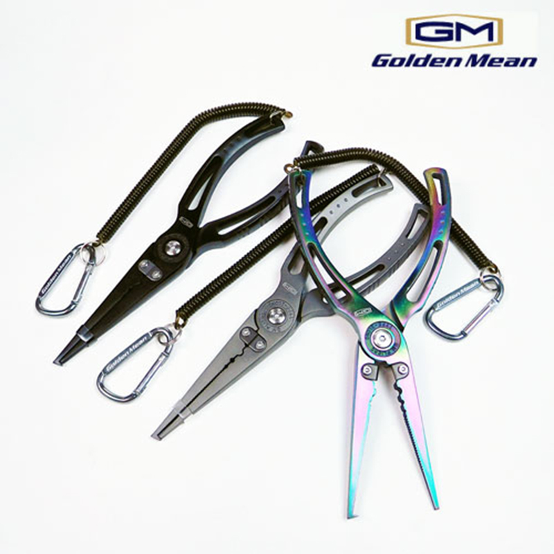 GOLDEN MEAN GM PLIER T-3 LONG NOSE #GUN METALLIC