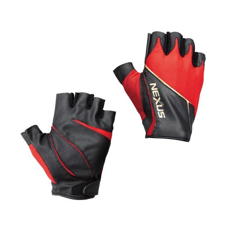 SHIMANO NEXUS STRETCH UP GLOVE 5 GL-124P RED