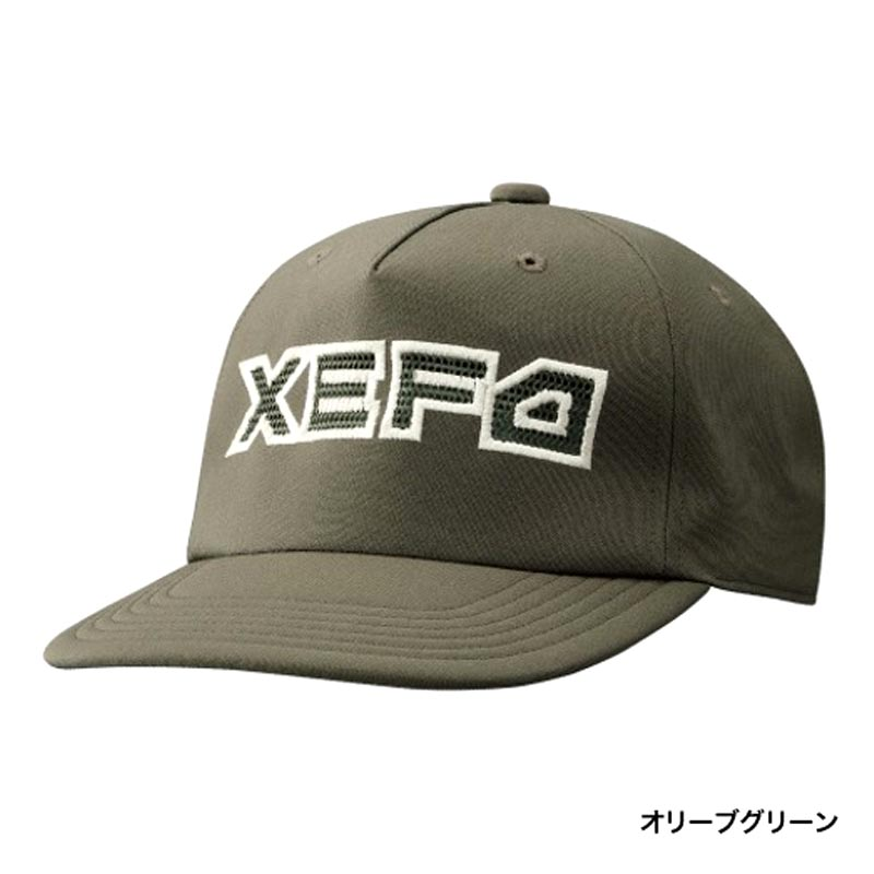 SHIMANO XEFO WIND FIT CAP CA-241P OLIVE GREEN