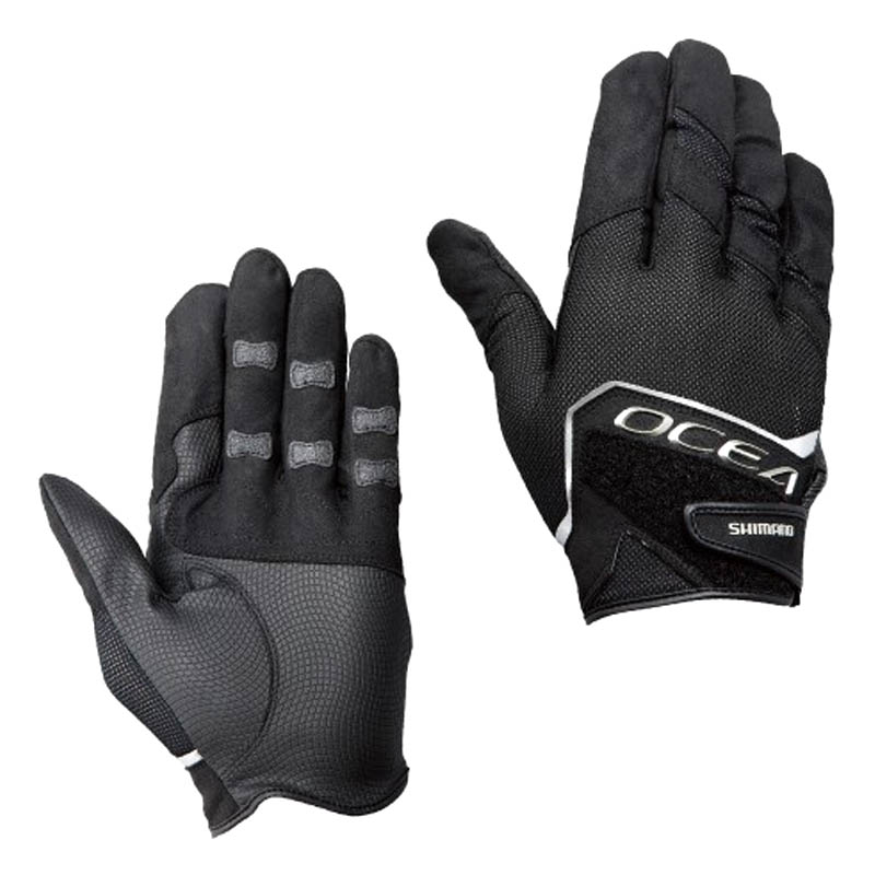 SHIMANO OCEA 3D STRETCH MESH GLOVE GL-245P BLACK L