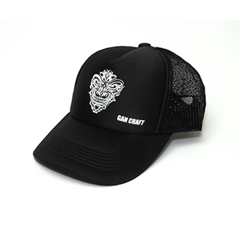 GANCRAFT ORIGINAL MESH CAP BLACK BLACK