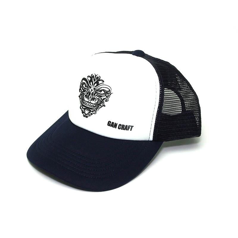 GANCRAFT ORIGINAL MESH CAP NAVY WHITE