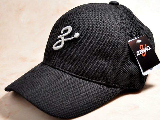 ZENAQ COOL MAX MESH CAP BLACK