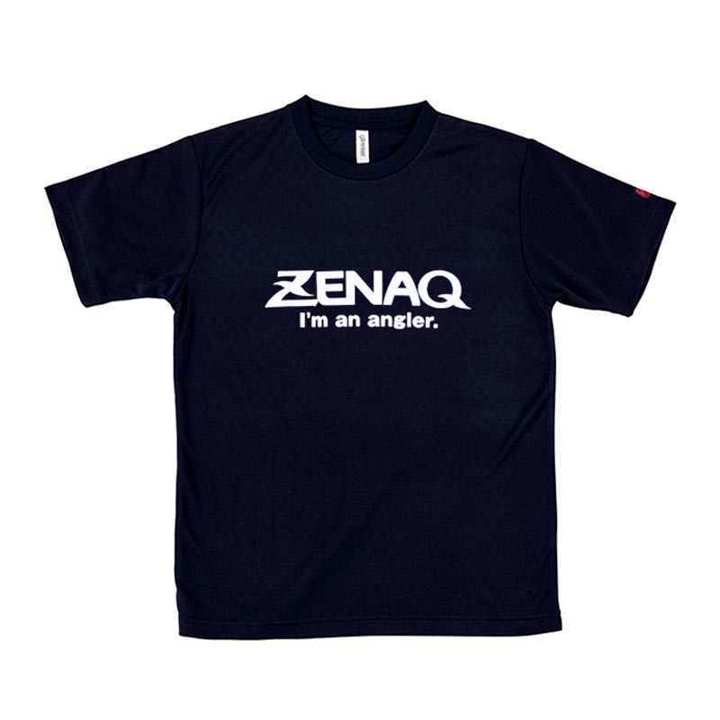 ZENAQ T-SHIRT MESH DRY BLACK SIZE L