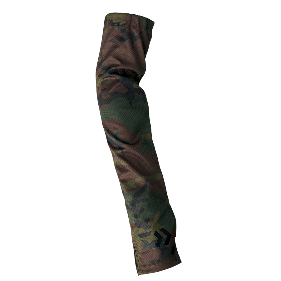 DAIWA ARM COVER DG-77009 GREEN CAMO SIZE L