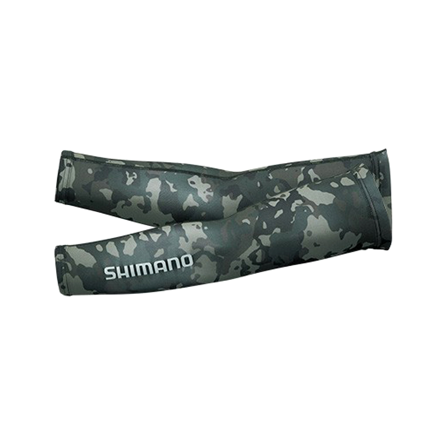 SHIMANO PROTECTION ARM COVER AC-067Q #BLACK WEED CAMO