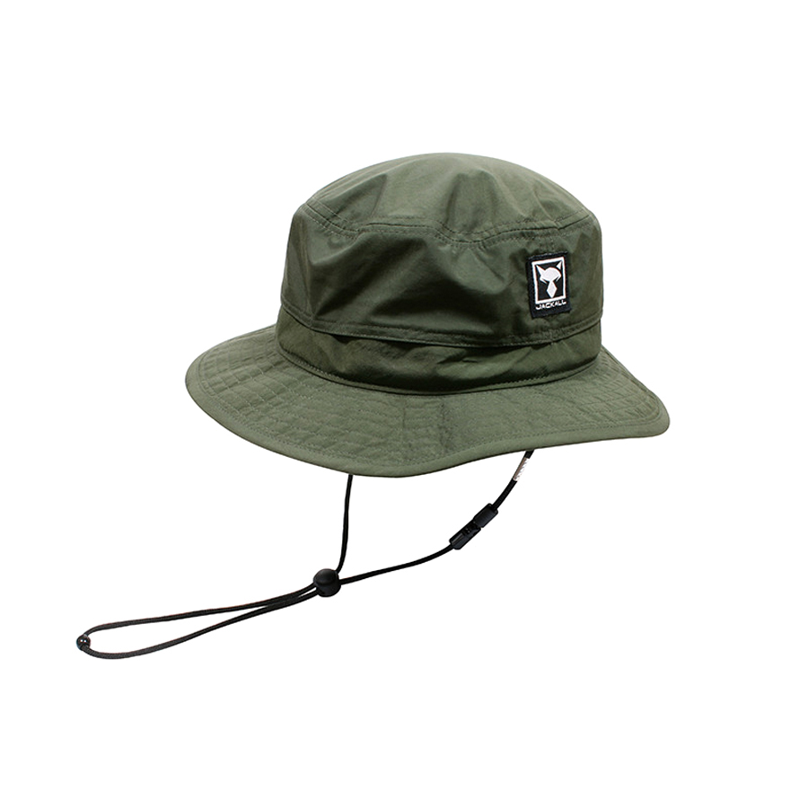 JACKALL OUT DOOR HAT #KHAKI GREEN