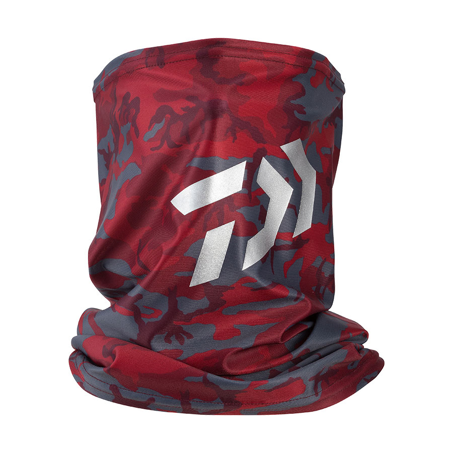 DAIWA COOL NECK & FACE COVER DA-97009 #RED CAMO