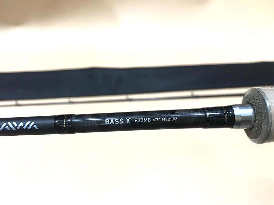 DAIWA BASS X 632MB