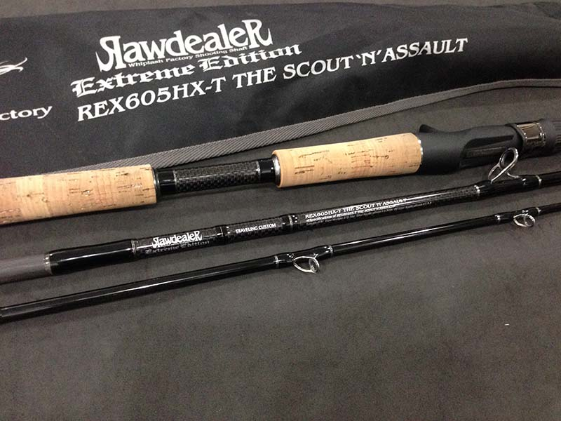 WHIPLASH FACTORY EXTREME EDITION RAW DEALER REX605HX-T (USED)