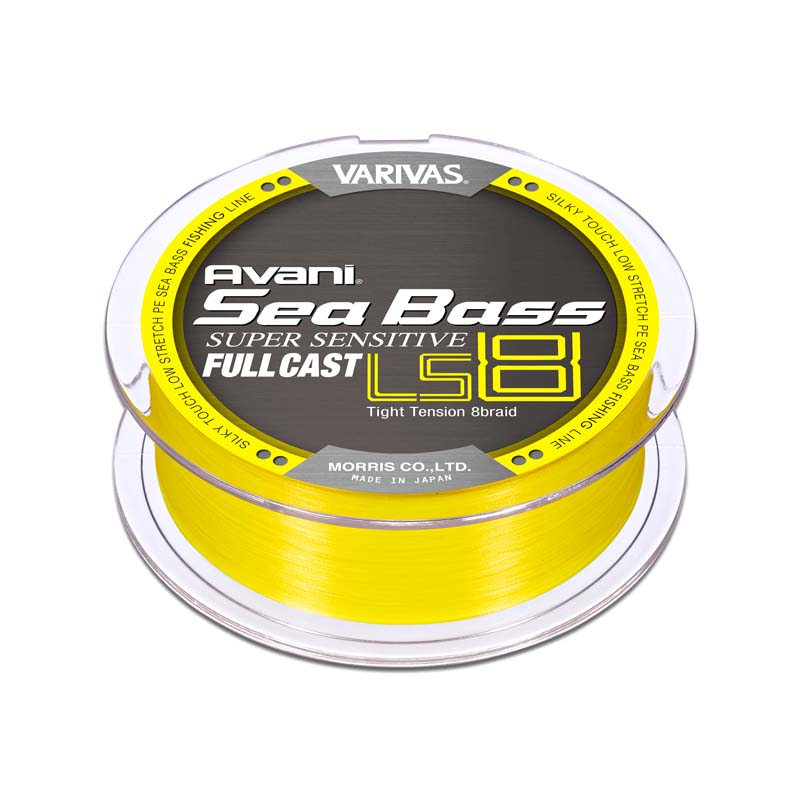 VARIVAS SEABASS PE SUPER SENSITIVE LS8 FULL CAST 200M #0.8
