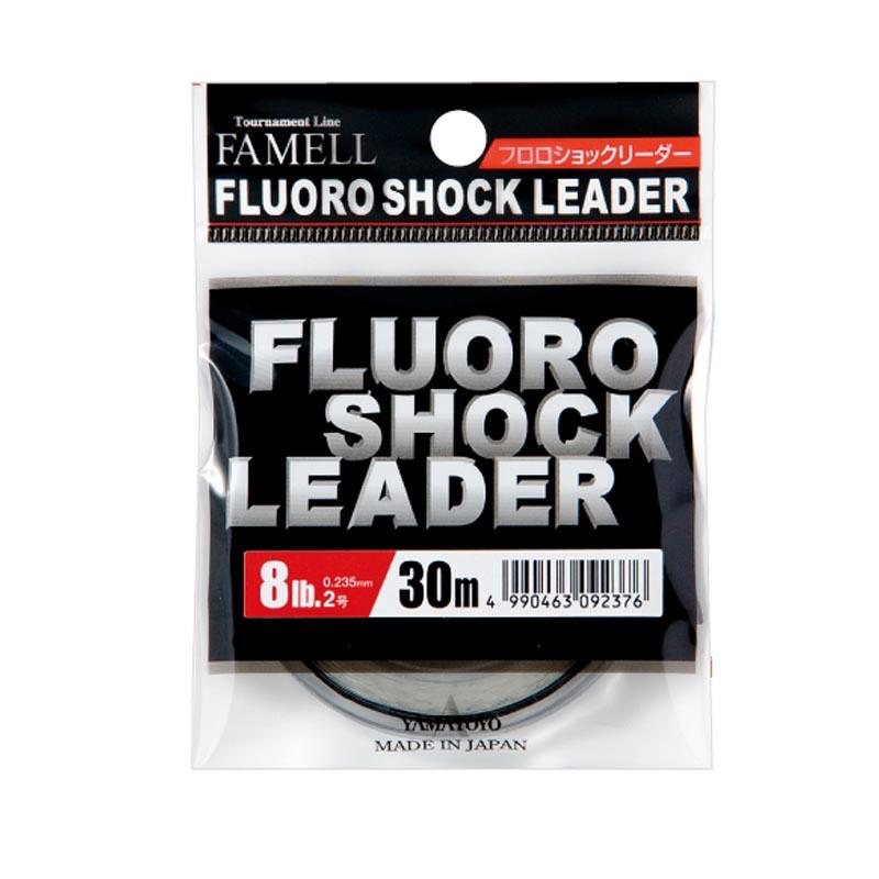 YAMATOYO FAMELL FLUORO SHOCK LEADER 30M #3 - 12LB