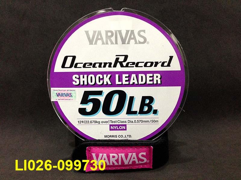 VARIVAS OCEAN RECORD SHOCK LEADER 50M #12 - 50LB