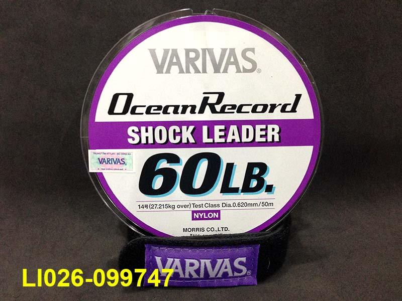 VARIVAS OCEAN RECORD SHOCK LEADER 50M #14 - 60LB