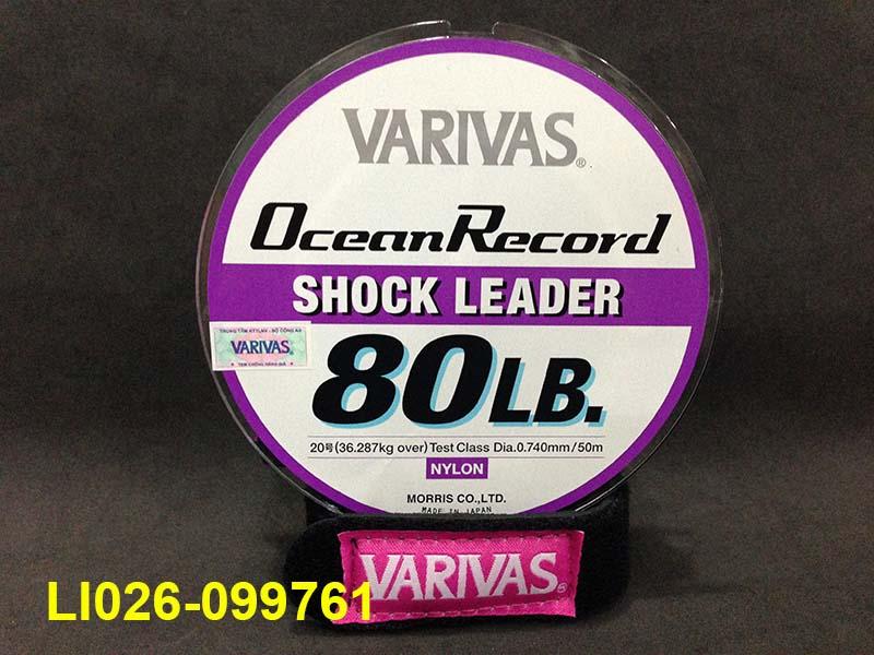 VARIVAS OCEAN RECORD SHOCK LEADER 50M #20 - 80LB