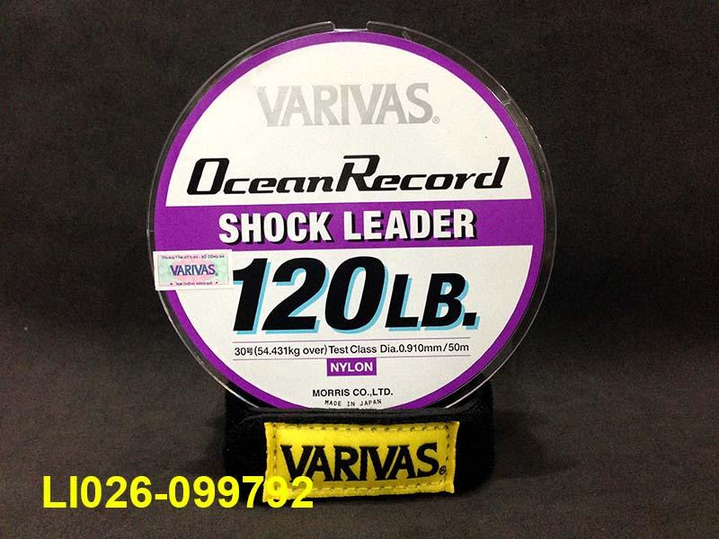 VARIVAS OCEAN RECORD SHOCK LEADER 50M #30 - 120LB