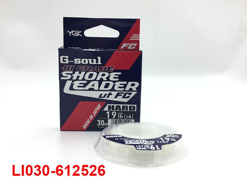 YGK HI-GRADE SHORE LEADER UT FC HARD #4 - 19LB