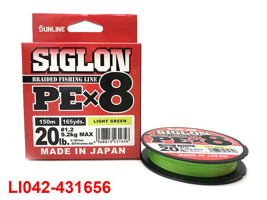 SUNLINE SIGLON PE X8 150M #1.2 - 20LB