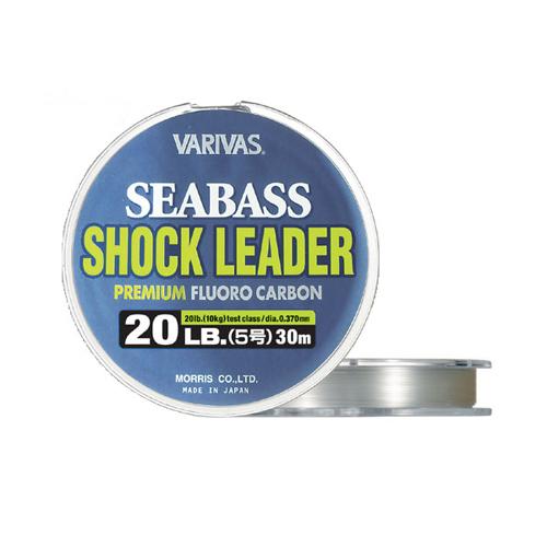 VARIVAS SEABASS SHOCK LEADER FLUORO 30M