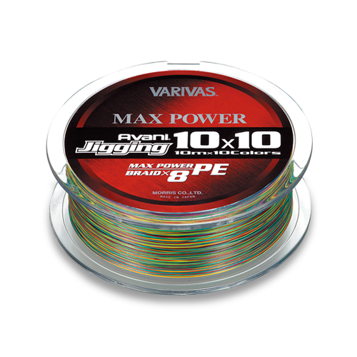 VARIVAS AVANI JIGGING MAX POWER 10x10 300m #1.2