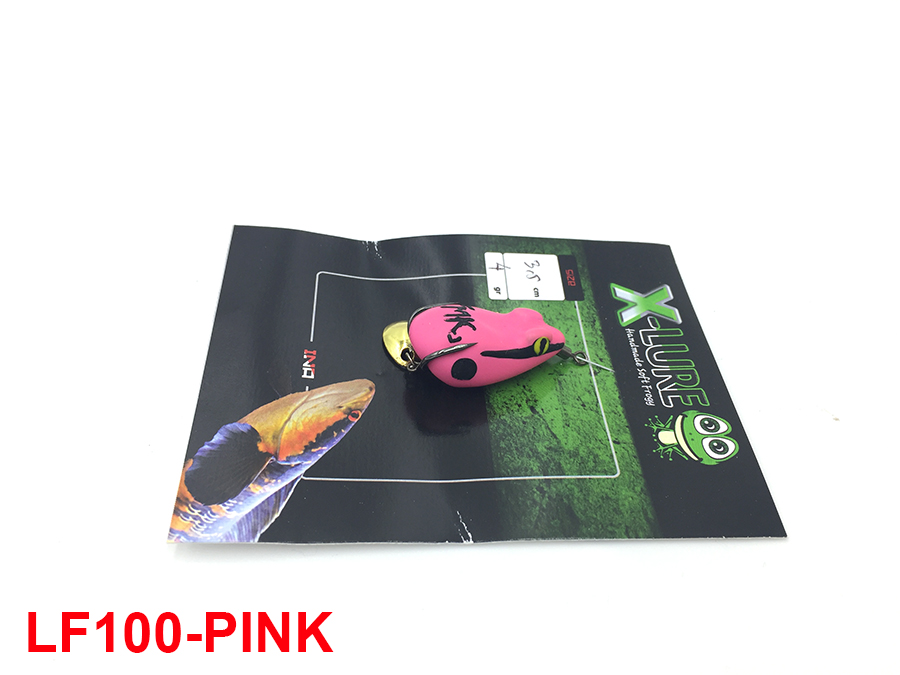 MONSTER KISS X-LURE MINI FROG #PINK