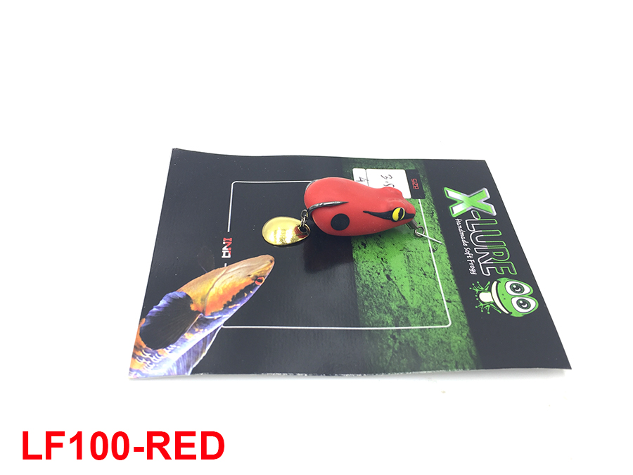 MONSTER KISS X-LURE MINI FROG #RED