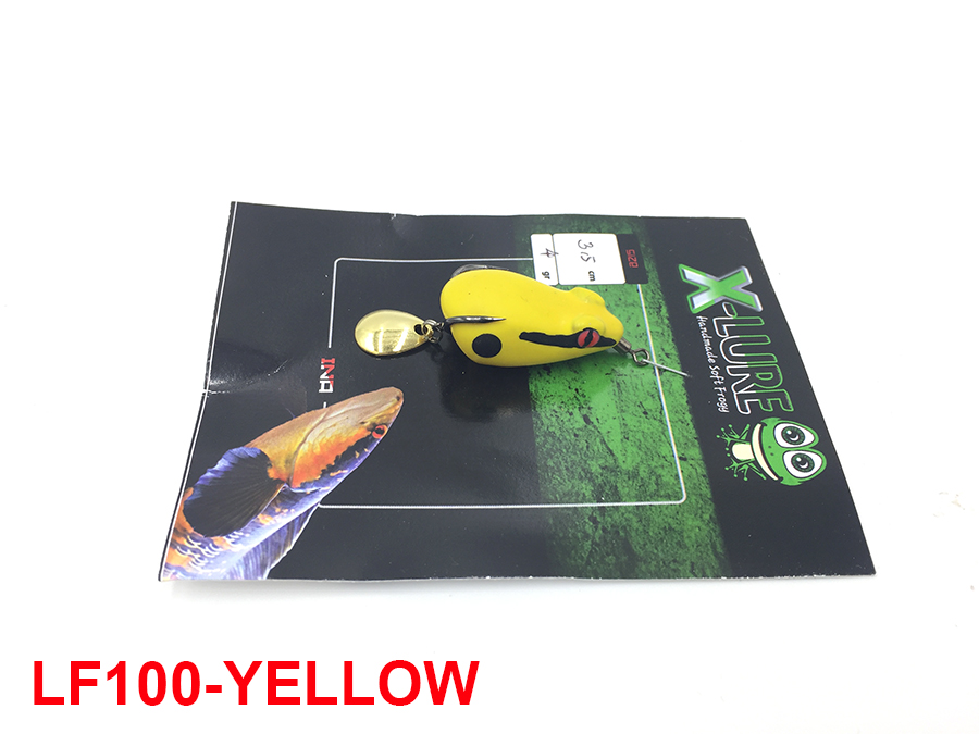 MONSTER KISS X-LURE MINI FROG #YELLOW