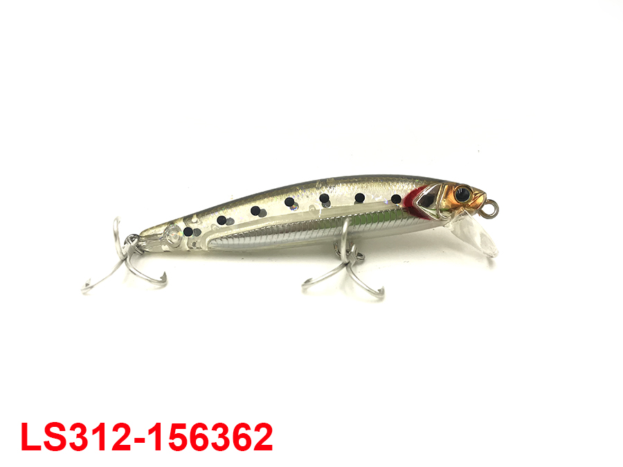 JACKALL BIG BACKER NABLA MINNOW 103 #SHIRASU SILVER