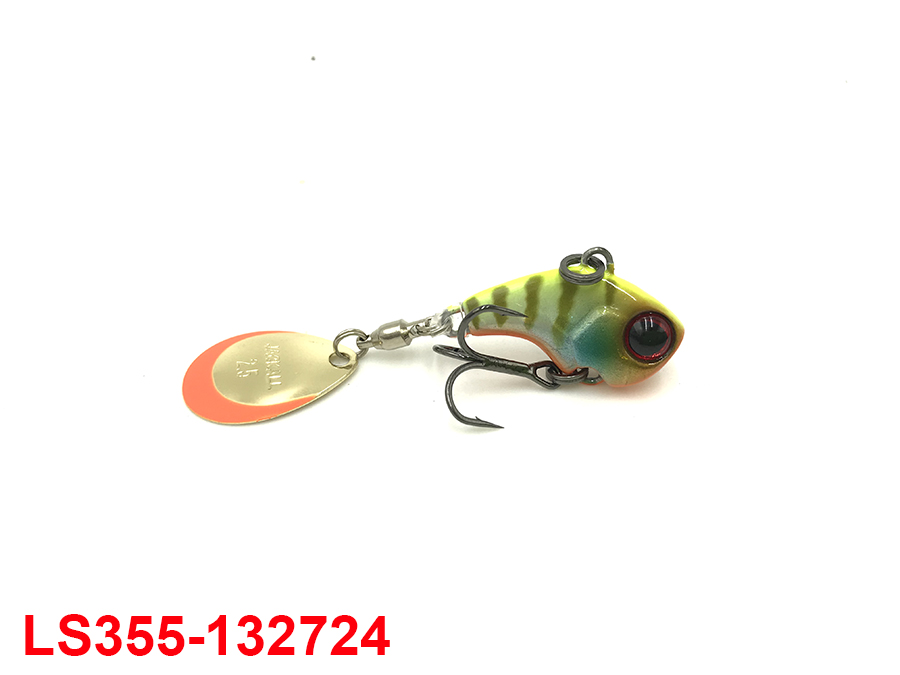 JACKALL DERACOUP 3/8OZ #CHARTREUSE BACK BLUE GILL