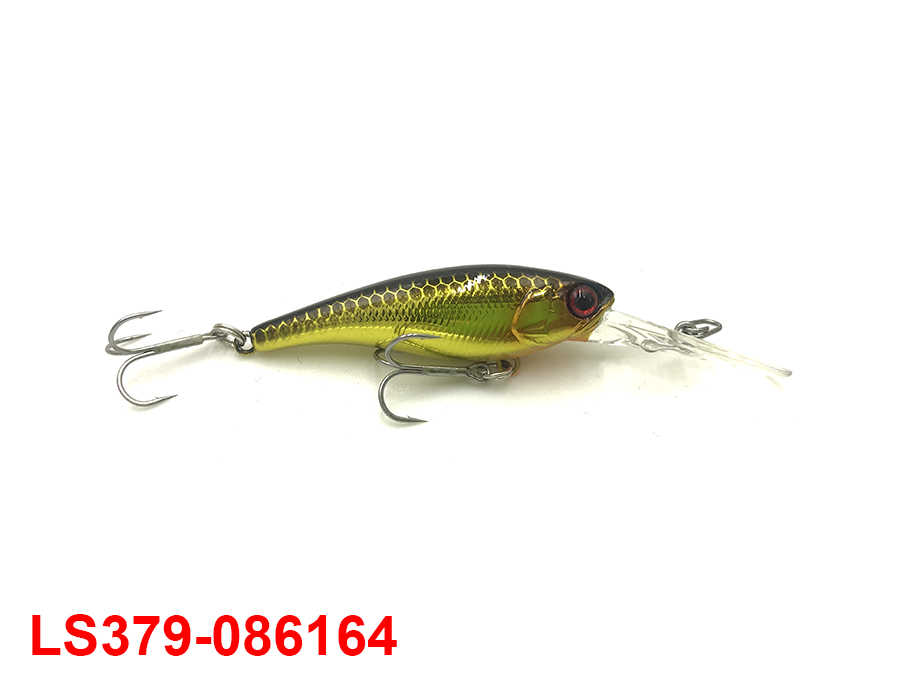JACKALL SOUL SHAD 45SP #HL GOLD & BLACK