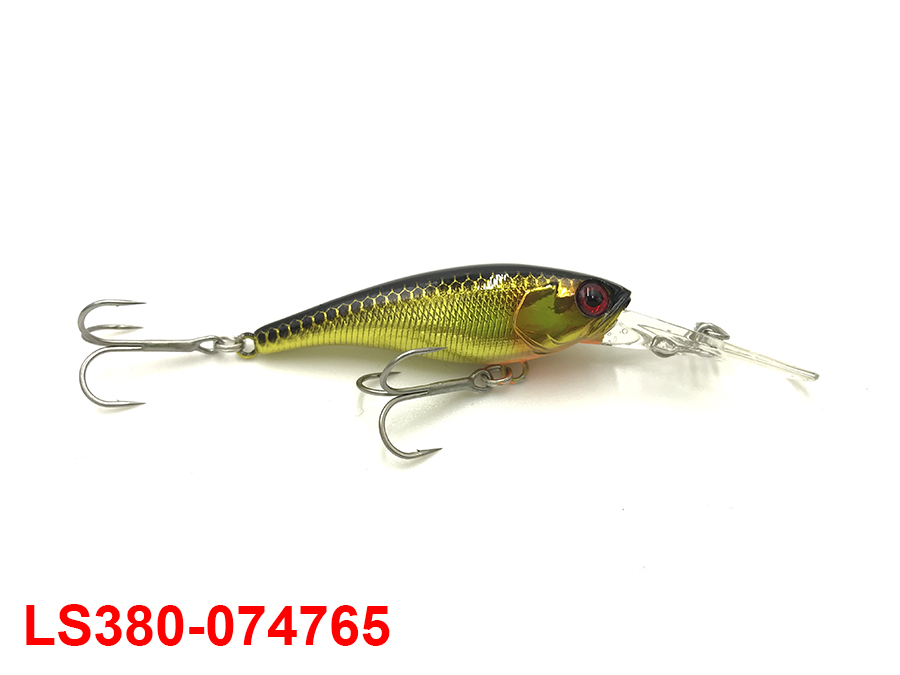JACKALL SOUL SHAD 52SP #HL GOLD & BLACK