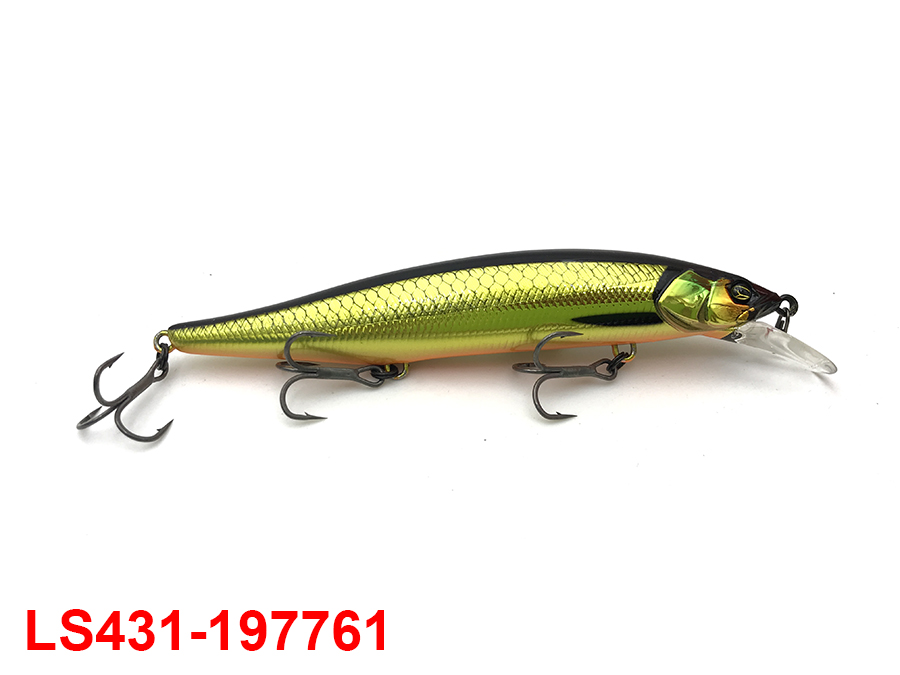 JACKALL RV-MINNOW 110SP #RV GOLD