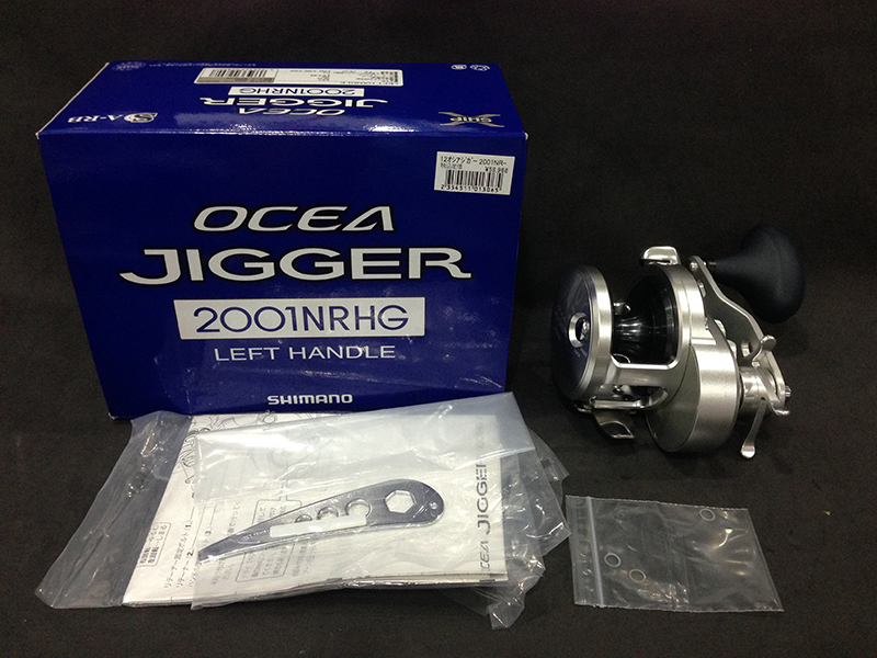 SHIMANO OCEA JIGGER 2001NRHG (LEFT HANDLE) (USED)